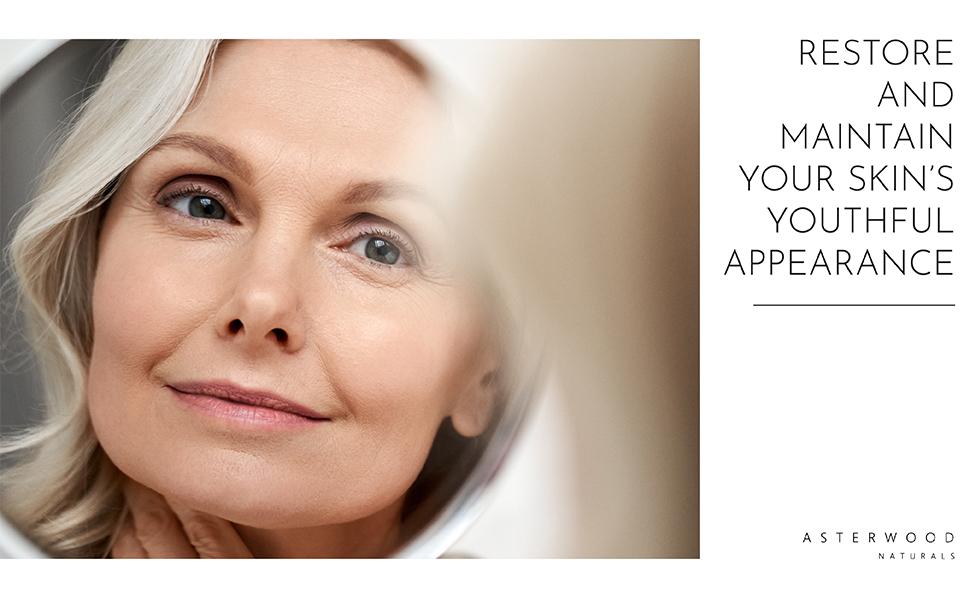 Helyreállítja és megőrzi bőrének fiatalos megjelenését
