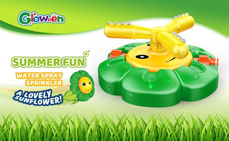 sprinkler for kids outdoor play