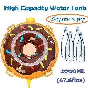 Large capacity water tank