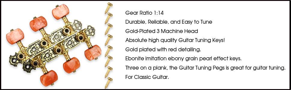Classical Guitar Tuning Keys