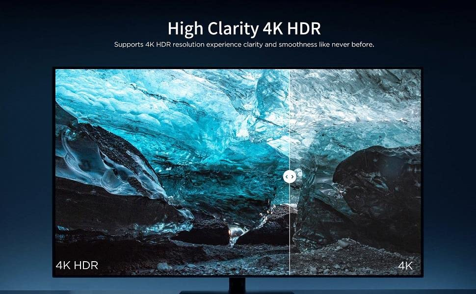 Android 10 Smart TV Box Chromecast built-in HD/4K/HDR Streaming Media Player