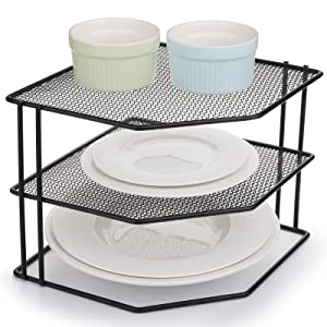 Yarlung 3-Tier Cabinet Corner Shelf