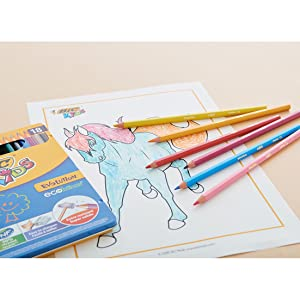BIC Kids best cheap colouring pencils for kids