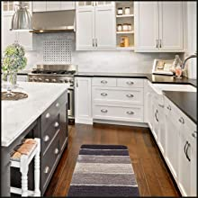 perfect kitchen mat, high absorption protects kitchen floors