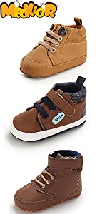 baby sneaker baby non-slip pu leather sneaker baby girl boy shoes