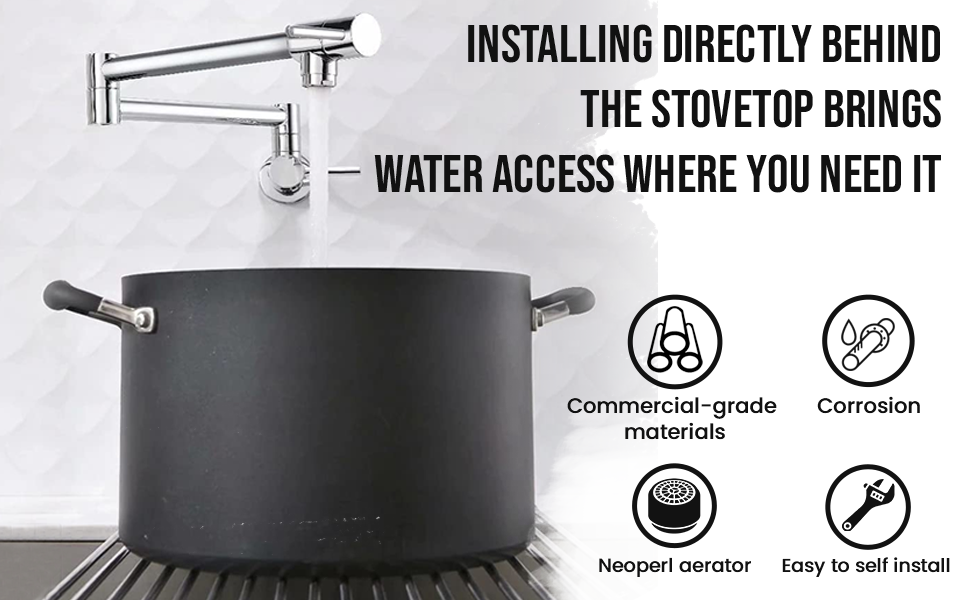 wide range 26-inch reach convenient water access fast flow