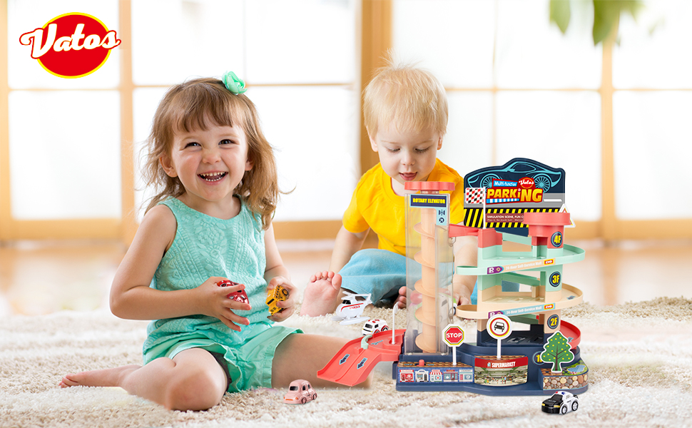 Car Track Toy for Boys Age 3 4 5 6