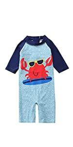 baby crab bathing suit