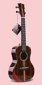 ukulele kala ka-zct-c ziricote ukulele concert