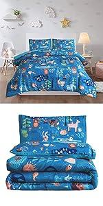 forest woodlands comforter set
