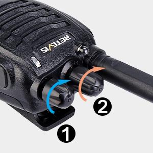 easy to use walkie talkie