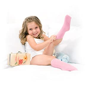 socks for kids with sensory issues, best seamless socks for sensory issues, girls seamless socks