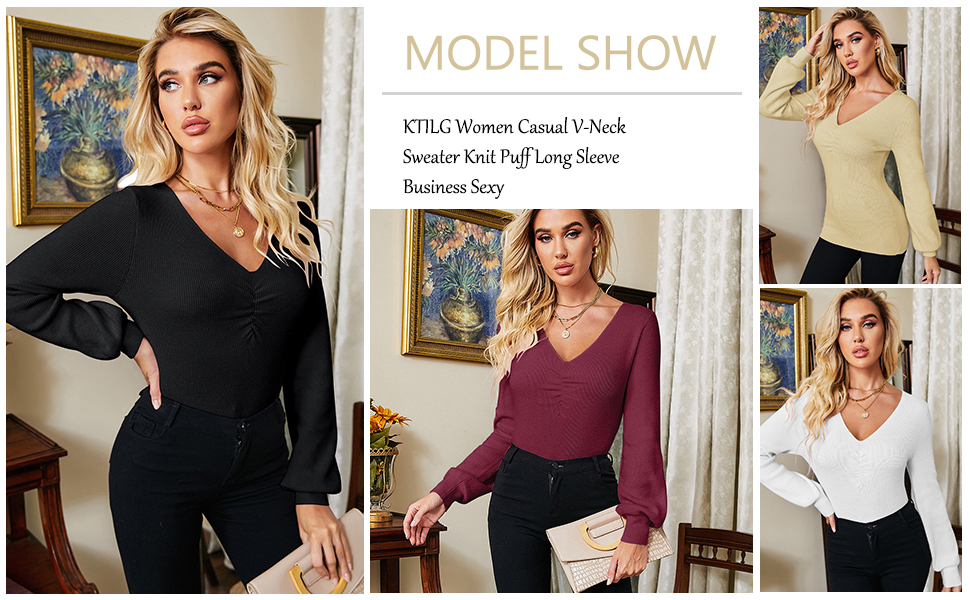 women casual sweater
