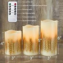 Table Decoration LED Candles