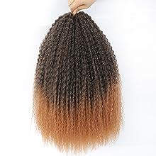 curly braiding crochet hair