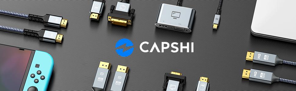 Capshi displayport cable