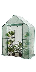 Greenhouse 77x56x30 PE