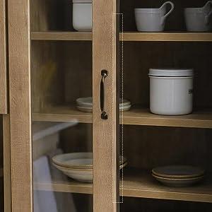 [幅60] キッチンボード キッチン収納 アンティーク調 日本製