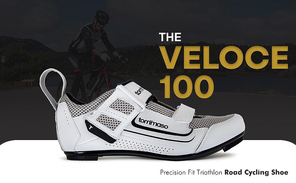 tommaso veloce triathlon shoes shoes road mens cycling bike triathlon velcro