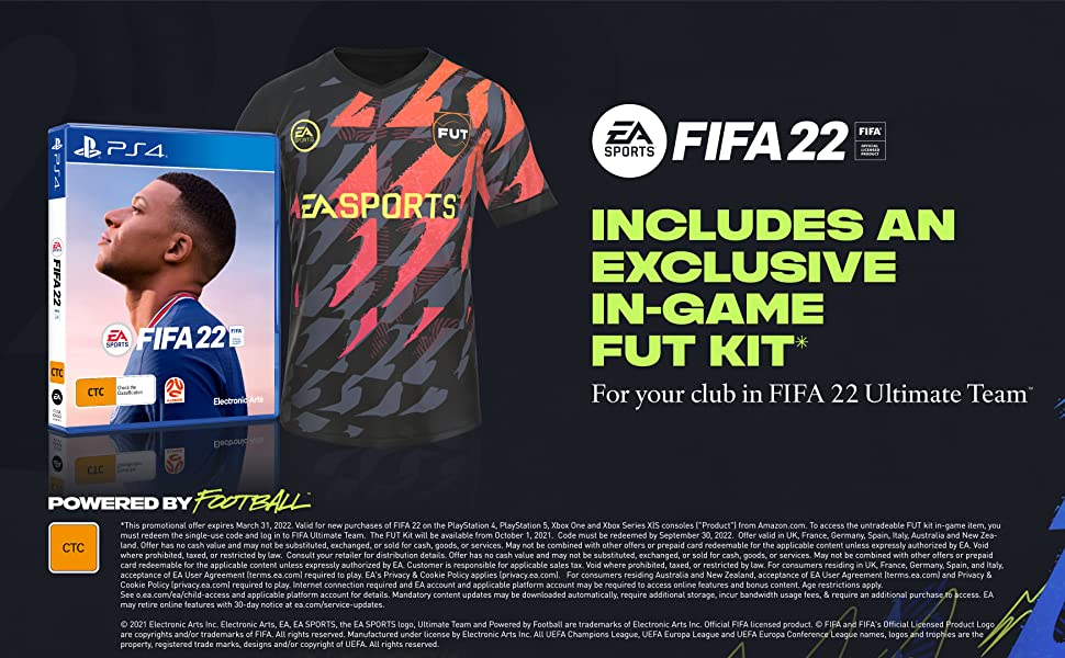 FIFA 22 Plus Edition Banner - PS4