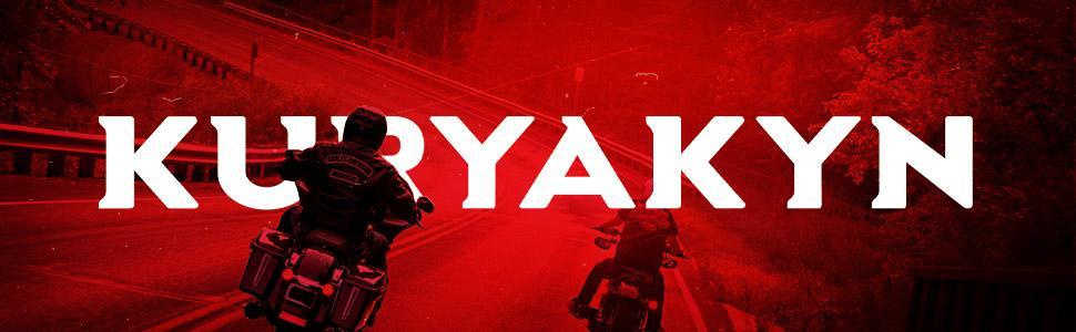 Kuryakyn motorcycle zombie saddlebag latch handles with sleek and extremely durable design function