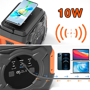 wireless charger power station