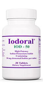 Optimox Iodoral 50mg