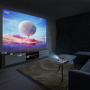 projector with wifi and Bluetooth