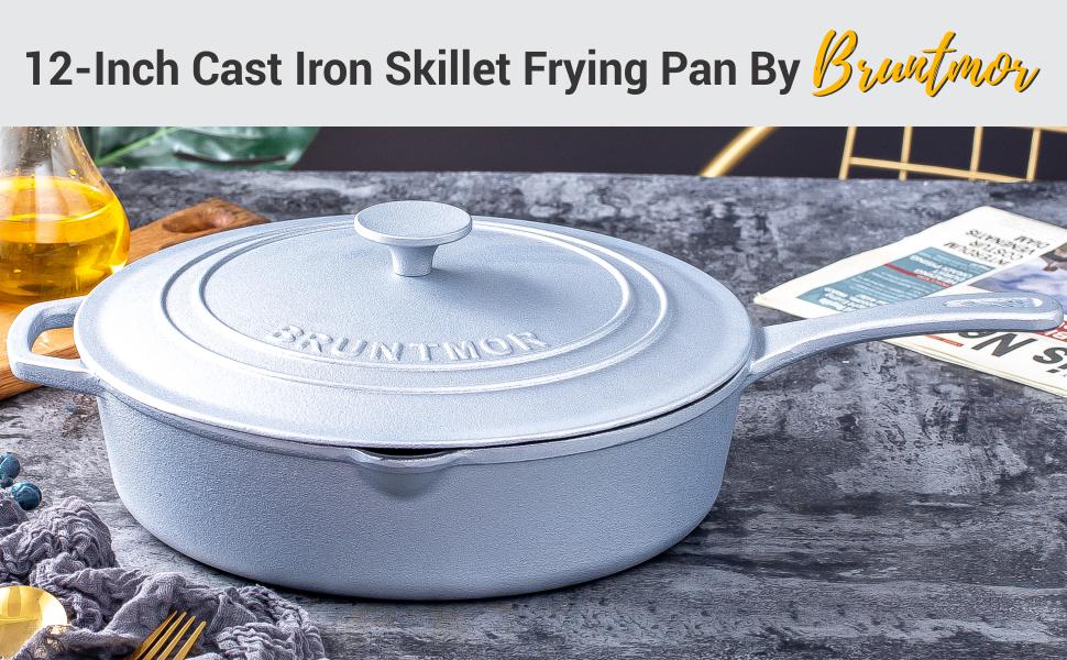 B092P6CRRQ -bruntmor-cast-iron-frying-pan-header-banner
