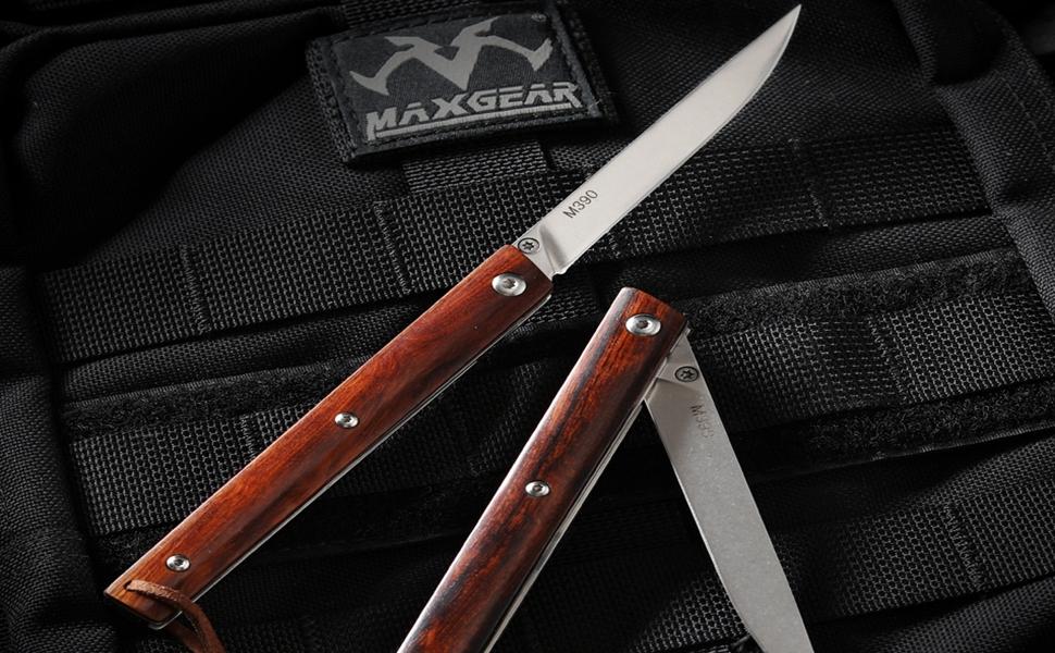 M390 outdoor folding knife