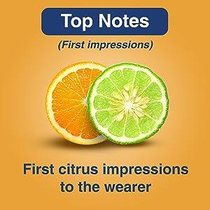 Top Note Citrus