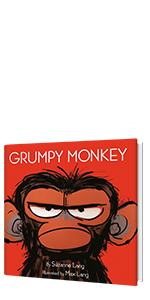 Grumpy Monkey by Suzanne Lang; Illustrated by Max Lang