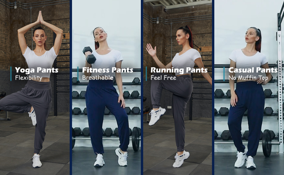 yoga pants fitness pants running pants casual pants flexibility breathable free no muffin top