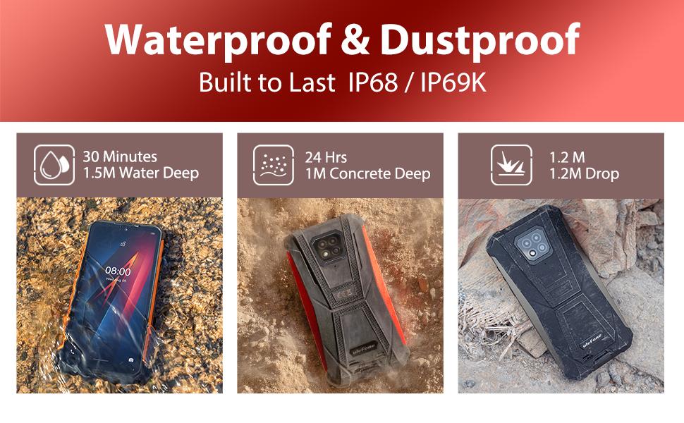 Waterproof & Dustproof