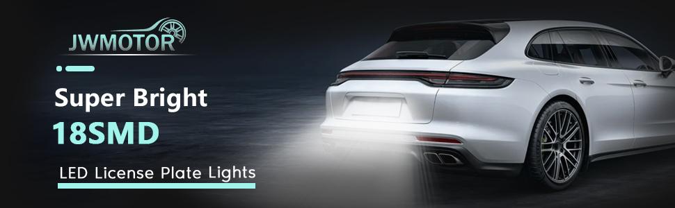 Super bright 18SMD LED License Plate Lights