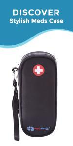 PracMedic Bags Sammie Medicine Case for Epipen, Auvi Q, Inhaler, Antihistamine