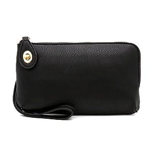 Women's Small Crossbody Bag Wristlet Clutch