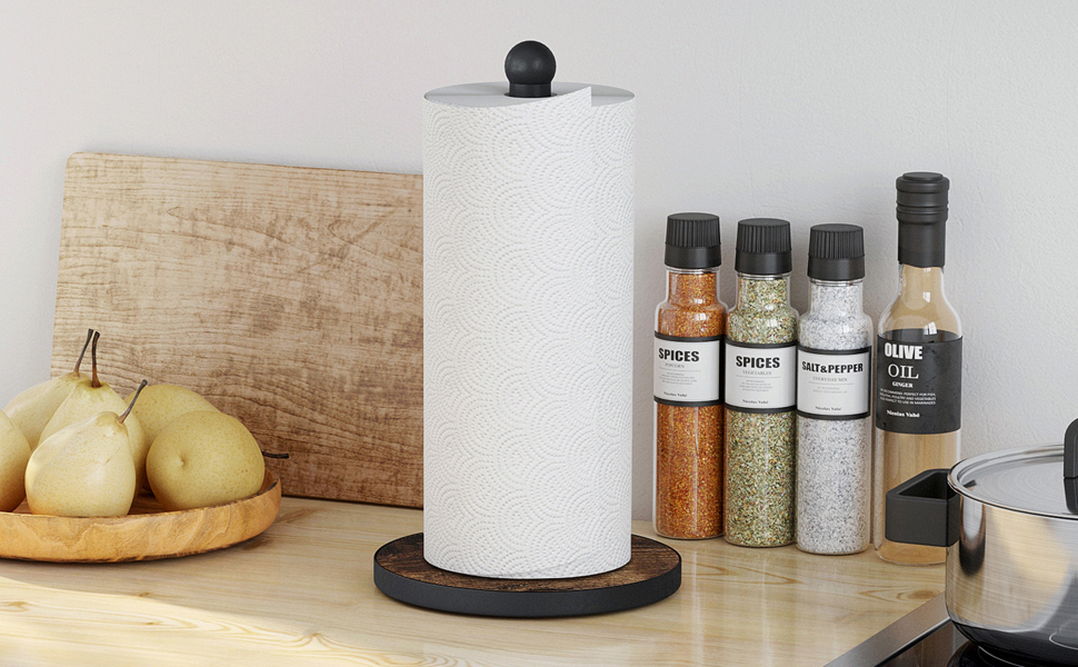 Paper Towel Holder Stand