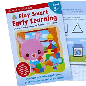 play smart 3+ early learning