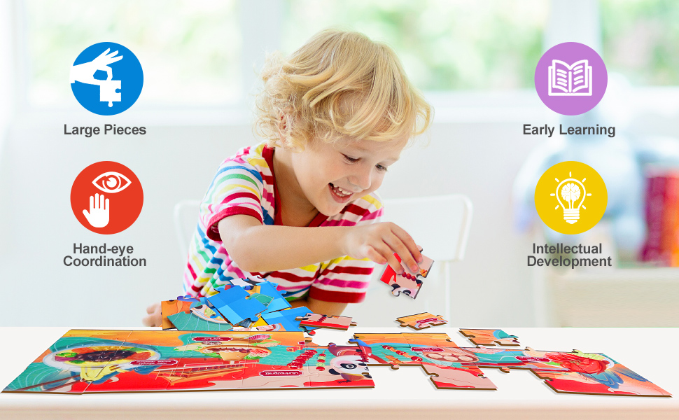 Educational toy series  -Floor Puzzle