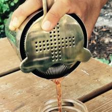 hawthorne strainer cocktail pour from boston shaker set for home bar or bartender
