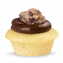 cookie dough mini cupcake from baked by melissa