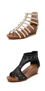 Bohemia Wedge Sandals