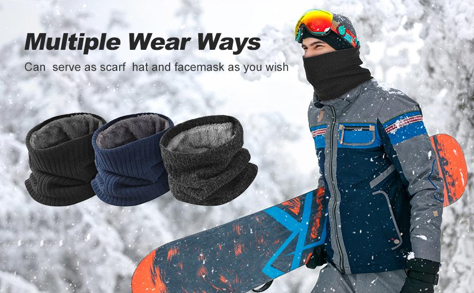 winter warm neck gaiter
