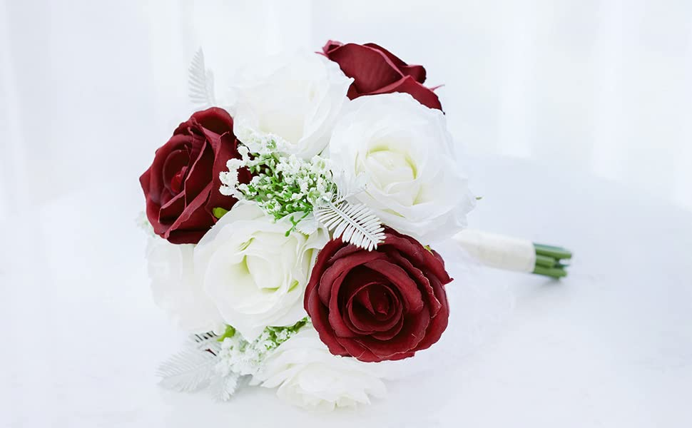 Red Bouquet for Wedding