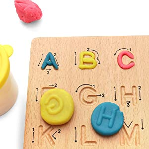 Letters Cognition Preschool Gift for 3 4 5 Years Old Kid Early Learning