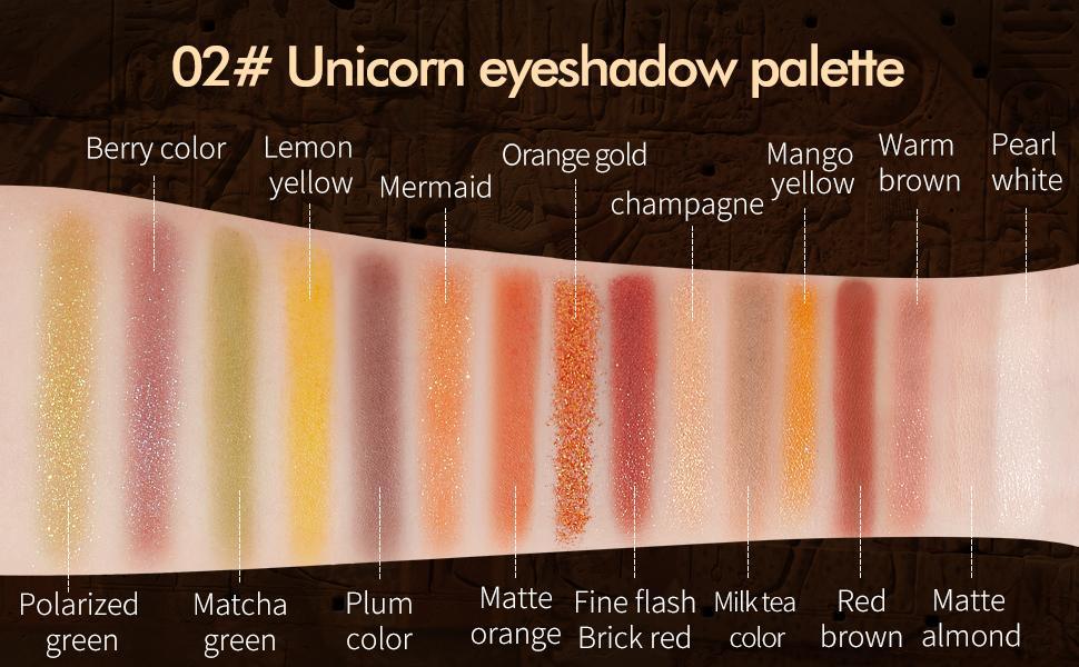 02# Unicorn Eyeshadow Palette