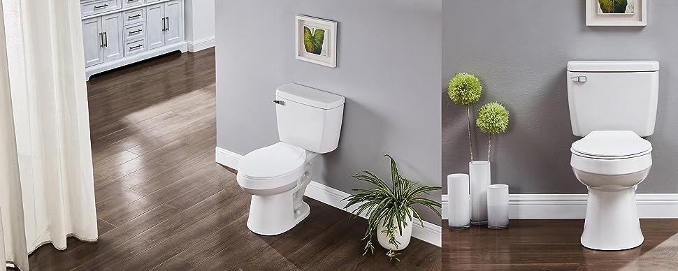 2 piece toilet