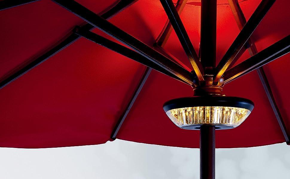 Patio Umbrella Light Battery Operated
