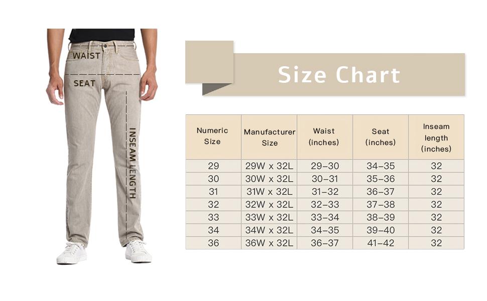 comfort cotton denim jeans
